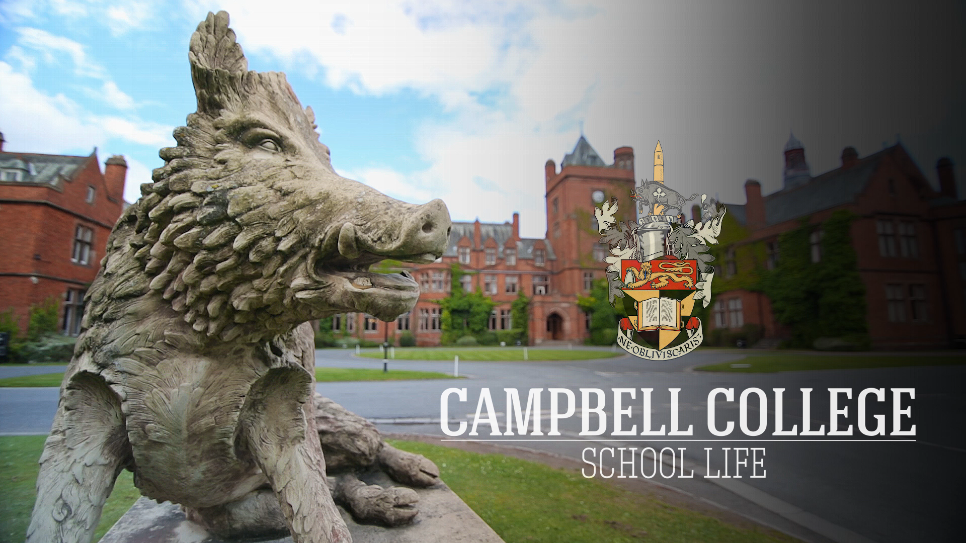 campbell college school life